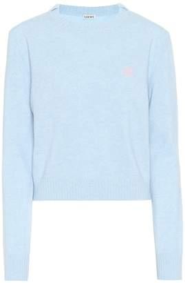 Loewe Cropped wool sweater