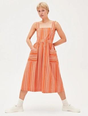 Armedangels Duttaa Stripes Dress - Dress / Xtra Small / Starfish-Kitt