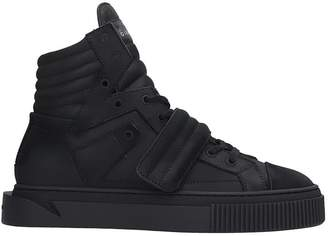 Gienchi Hypnos Sneakers In Black Nubuck