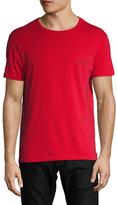 Emporio Armani Pop Color Stretch Cotton Crewneck T-Shirt