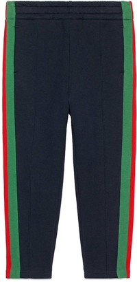 Gucci Children's track bottoms with Web