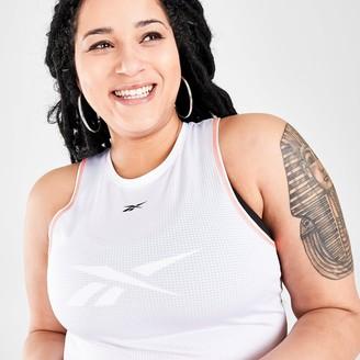 Reebok Women's Workout Ready Mesh Training Tank (Plus Size)