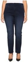 NYDJ Plus Size - Plus Size Alina Legging Jeans in Super Sculpting Denim in Norwell Wash Women's Jeans