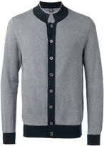 Eleventy contrasting trim cardigan - men - Cotton - L