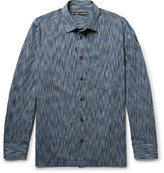 Issey Miyake Men - Patterned Cotton-blend Shirt