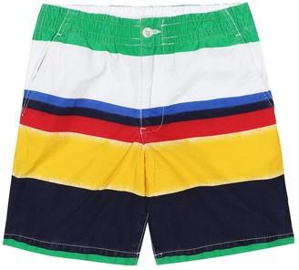 Polo Ralph Lauren Kids Striped cotton shorts