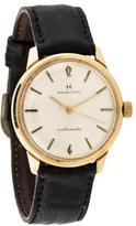Hamilton 14K Vintage Automatic Watch