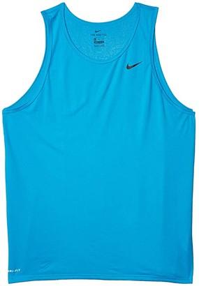 Nike Legend Tank Top (Laser Blue/Black) Men's Sleeveless