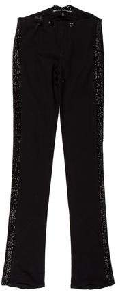 Ralph Lauren Black Label Crystal-Embellished Mid-Rise Jeans w/ Tags