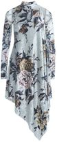 MM6 MAISON MARGIELA Chenille Dress With Floral Print