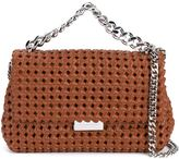 Stella McCartney mini 'Becks' weaved shoulder bag