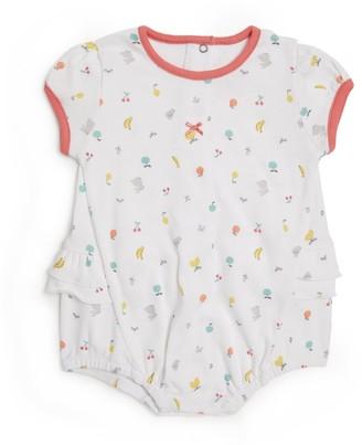 Absorba Fruit Print Bubble Bodysuit
