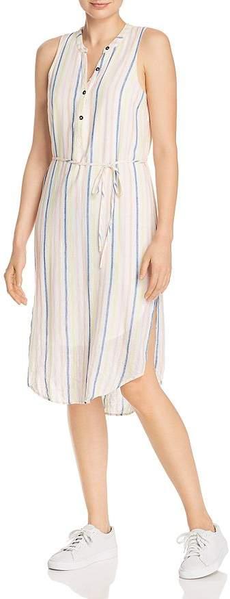 Splendid Striped Midi Dress