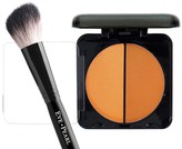 EVE PEARL Dual Pressed Powder & Brush Duo - Tan