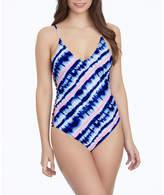 Arizona Tie Dye One Piece Swimsuit Juniors