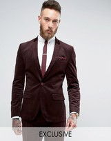 ONLY & SONS Super Skinny Suit Jacket In Cord