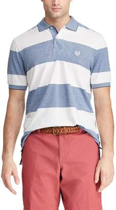 Chaps Men's Classic-Fit Rugby-Striped Polo