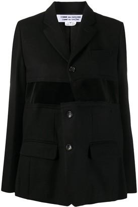 Comme des Garçons Comme des Garçons Cut Out Deconstructed Jacket