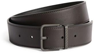 Bottega Veneta Leather Monochrome Buckle Belt