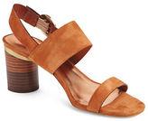 Ted Baker Azmara Suede Block Heel Sandals