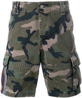Valentino camouflage cargo shorts - men - Cotton - 46