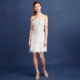 J.Crew Feather flapper dress