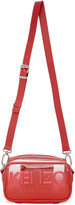 Kenzo Red Kombo Crossbody Bag