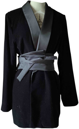 Zara Black Velvet Jackets