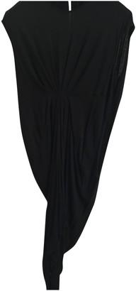 Rick Owens Lilies Black Wool Dresses