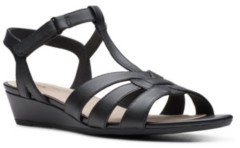 Clarks Collection Women's Abigail Daisy Dress Sandals Women's Shoes