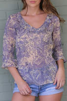 Angie Janet Lilac Top