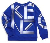 Kenzo Toddler's, Little Boy's & Big Boy's Signature Cotton Sweater