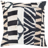 Found Object Hand-Woven Patchwork Pillow
