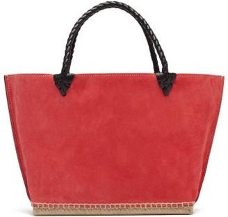 Altuzarra Espadrille Small Suede Tote Bag - Womens - Pink