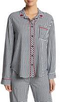 PJ Salvage Rock N Rose Long Sleeve Pajama Top
