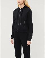 Armani Exchange Logo back cotton-jersey zip hoody