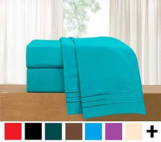 Elegant Comfort 4-Piece Sheet Set-Luxury Bedding 1500 Thread Count Egyptian Quality Wrinkle and Fade Resistant Hypoallergenic Cool & Breathable