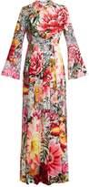 Mary Katrantzou Desmine floral-print crepe de Chine gown
