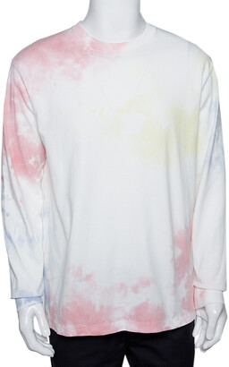 John Elliott Ink Bloom Tie Dye Cotton University T-Shirt M