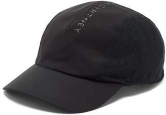 adidas by Stella McCartney Logo-print Mesh-panelled Cap - Womens - Black