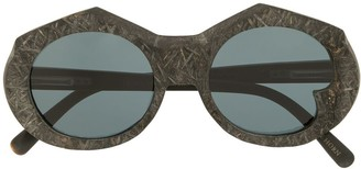 Rigards Oversized Frame Sunglasses