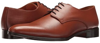 Carlos by Carlos Santana Power Oxford (Black Full Grain Calfskin Leather) Men's Shoes