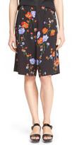N°21 N21 &Jil& Anemone Print Bermuda Shorts