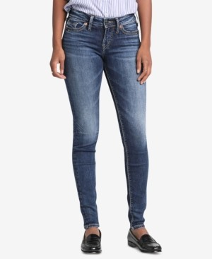 Silver Jeans Co. Suki Curvy-Fit Skinny Jeans
