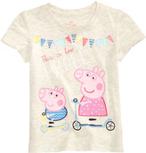 Nickelodeon Nickelodeon's Peppa Pig-Print T-Shirt, Toddler Girls (2T-4T)