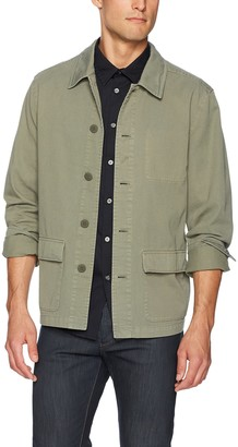 Paige Men's Dalton Garment Dyed Shirt Jacket