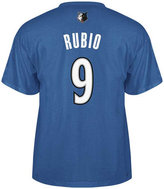 adidas Men's Minnesota Timberwolves Ricky Rubio Player T-Shirt