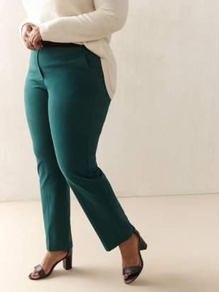 Straight Leg Solid Pant - Addition Elle