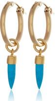 Harry Rocks Turquoise Spike Earrings