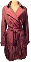 Burberry Burgundy Polyester Dress